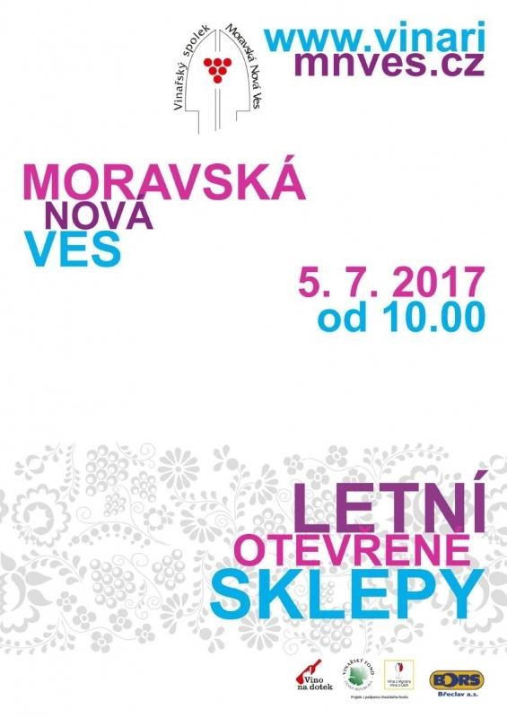 Letní otevřené sklepy 2017 - Moravská Nová Ves
