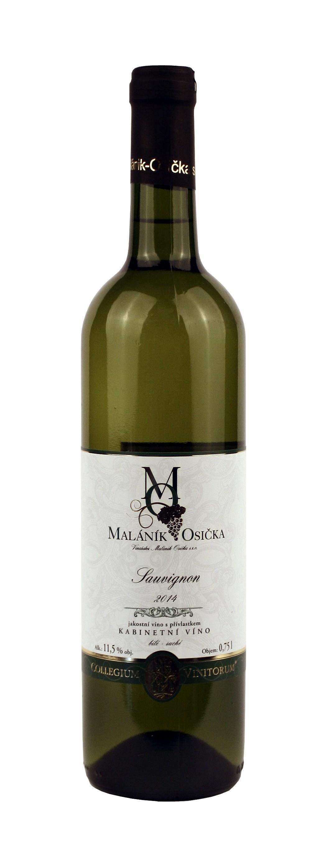 produkt_Sauvignon 2014 Kabinetní víno