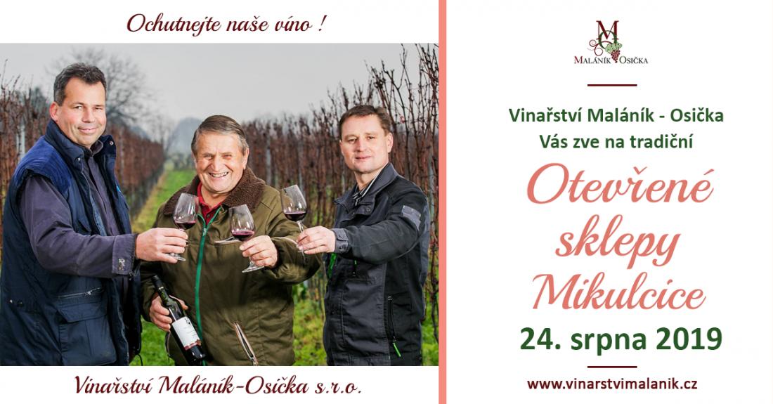 Otevřené sklepy Mikulčice 24.8.2019