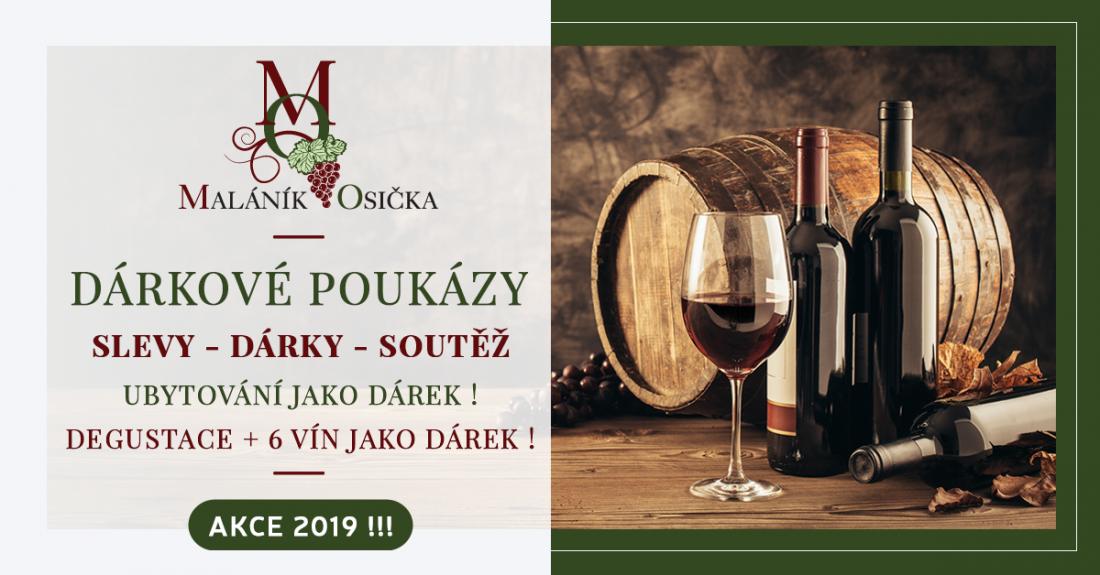 Akční nabídka pro milovníky dobrého vína s překvapením !