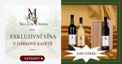 Pálava VH-18. Exkluzivní víno. Dárková kazeta A4.