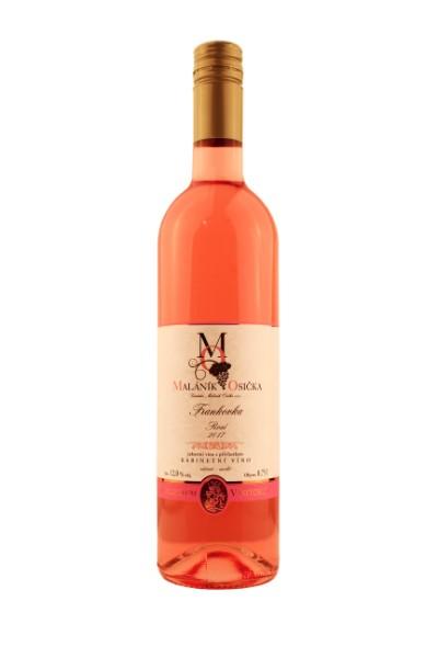 ROSÉ Frankovka 2017 Kabinetní víno, suché