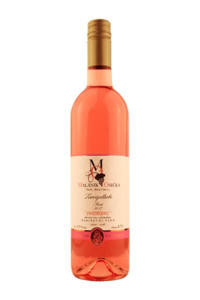 ROSÉ Zweigeltrébe 2017 Kabinetní víno, suché